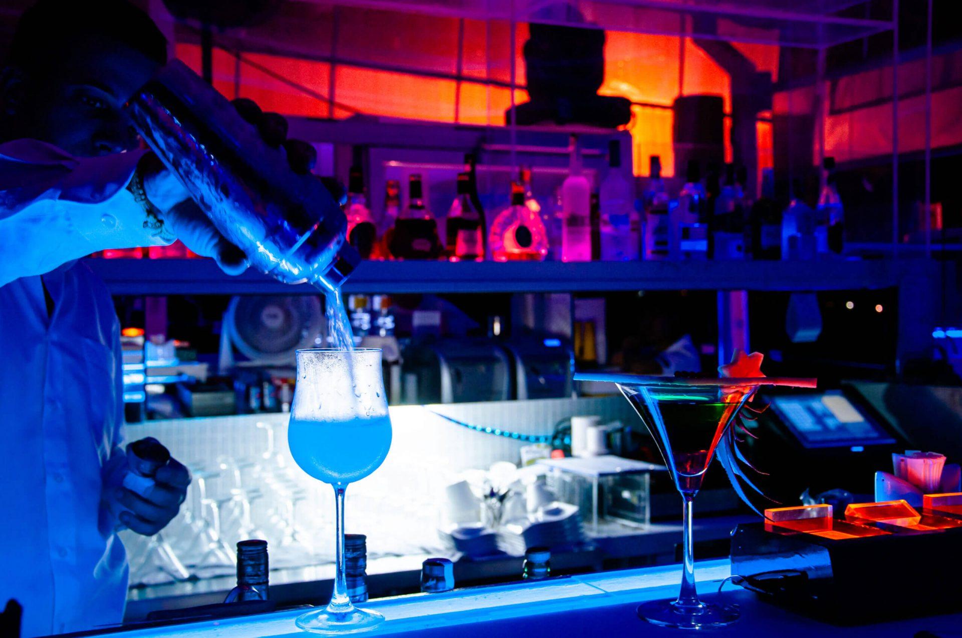 Bar monde de la nuit